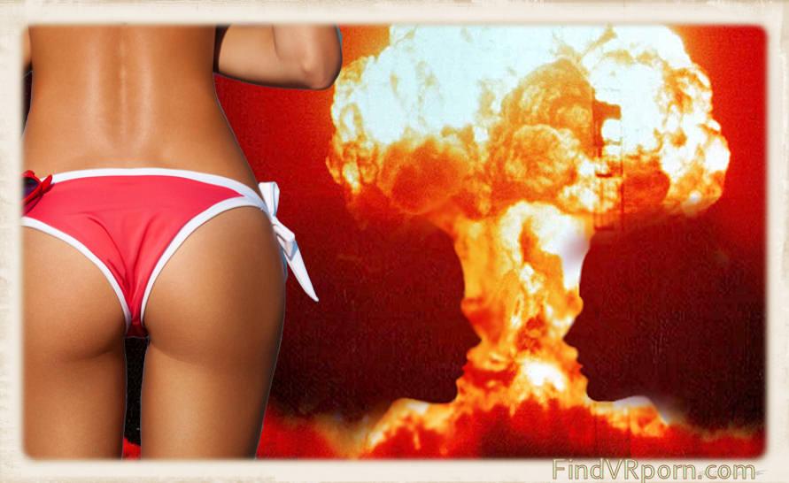 bikini ass nuclear explosion collage
