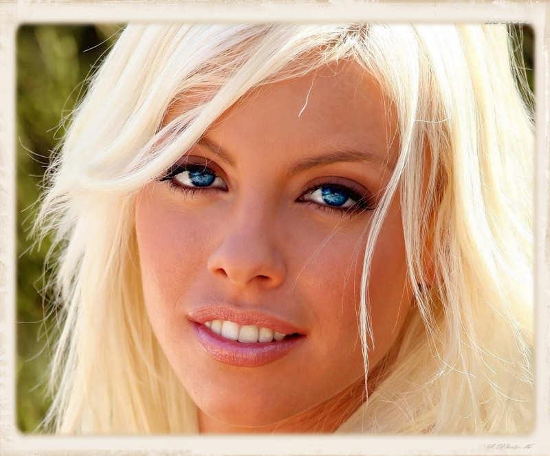 Britney Amer's face