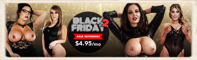 Naughty America sale of $4.95 a month for Black Friday