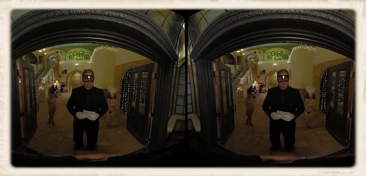Entering the fidelio mansion