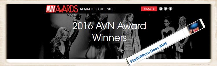AVN Award FindVRporn.com