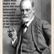 Freud bikini quotation