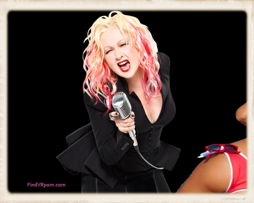 Pictured above, Cyndi Lauper shares her thoughts about money