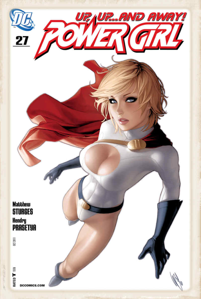 Powergirl comicbook cover