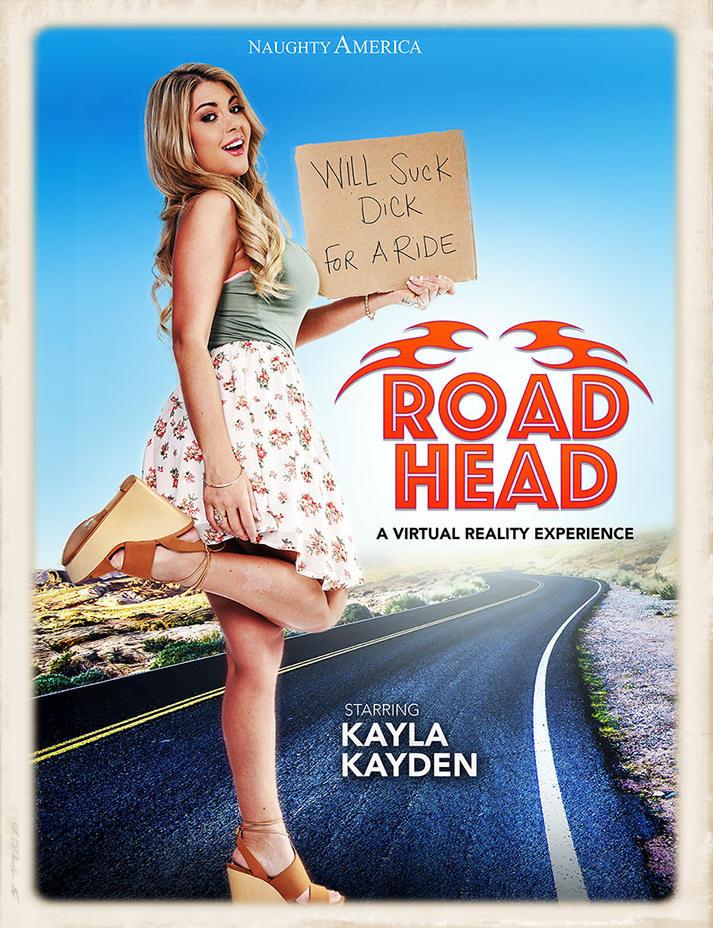 Kayla Kayden stars in Road Head