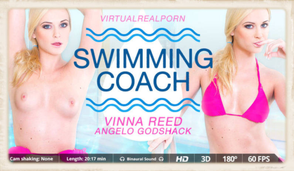 Swimming Coach with Vinna Reed and Angelo Godshack