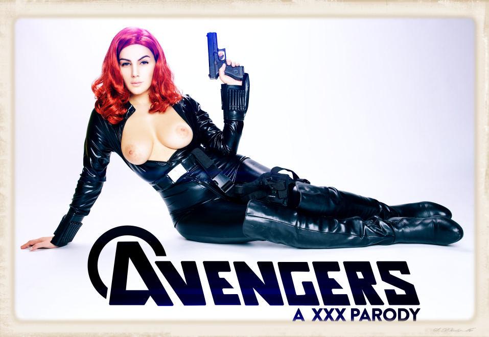 Avengers XXX Black Widow horny for VRcosplayX
