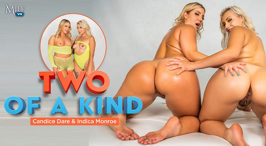 Dandice Dare and Indica Monroe MilfVR Two of a Kind