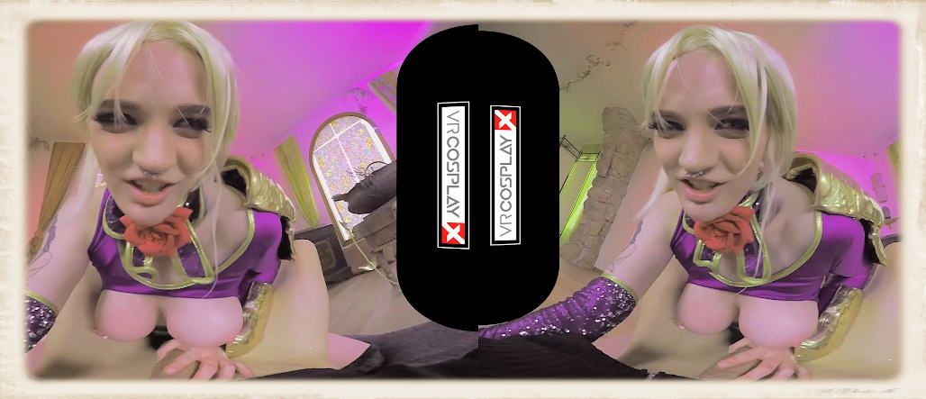 Horny blonde Carly Rae cosplay