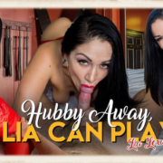 Hubby Away Lia Can Play starring Lea Lexis