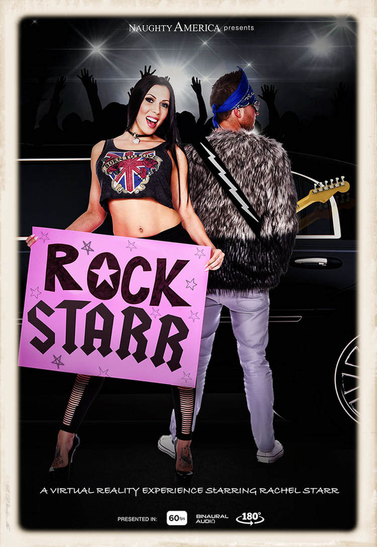 Rock Starr big promo graphic for NA