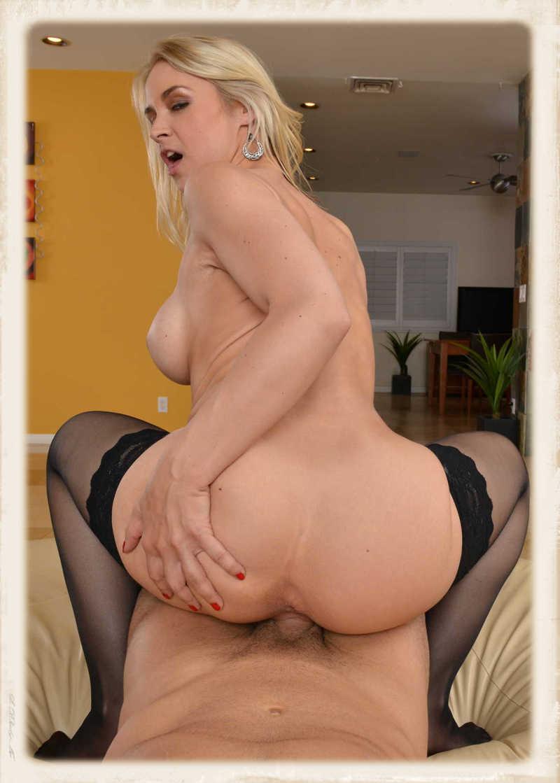 Sarah Vandella reverse cowgirl