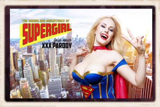Angel Wicky is Supergirl