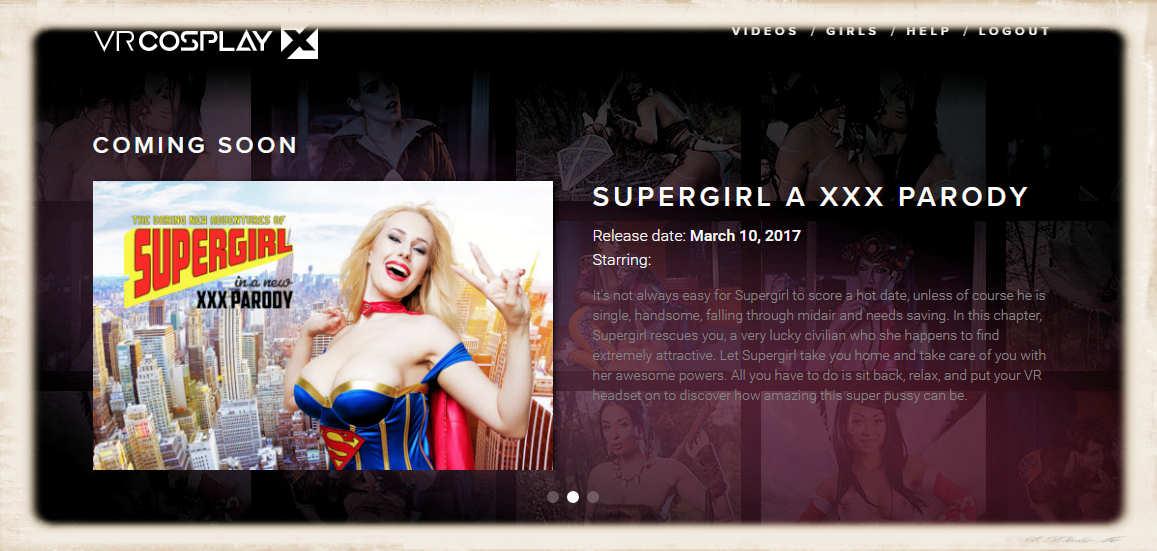 Angel Wicky supergirl promo
