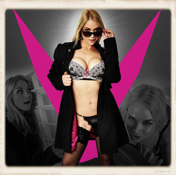 V for Vandella porn movie header graphic