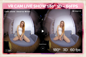 VirtualRealCams.com graphic with Armana Miller