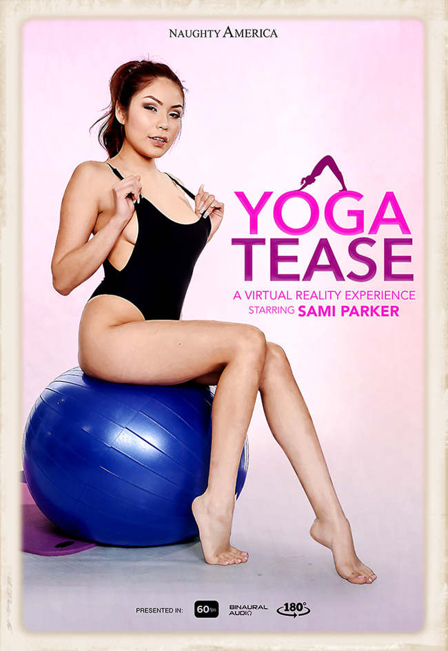 The Yoga Tease with Sami Parker outing offers some horny leoatard action