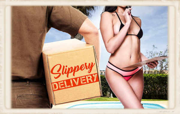 Slippery Delivery Ariana Marie