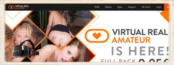Virtual Real Amateur Porn header image