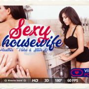 Heather Vahn stars in Sexy Housewife