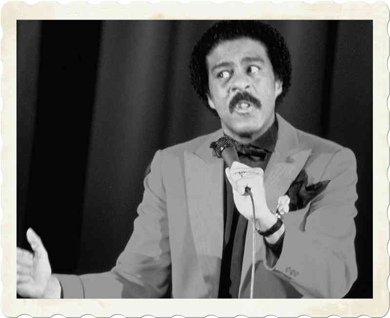 Richard Pryor performing
