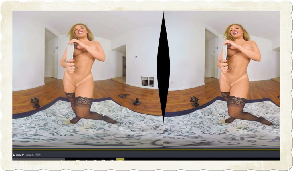 Richelle Ryan naked in stockings