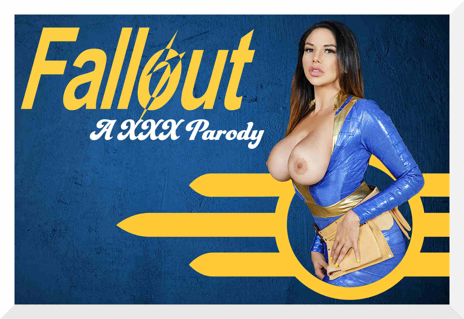 Fallout A XXX Parody is a December 2017 cosplay VR porn movie starring Missy