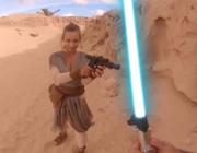 Light saber action in a VR porn!