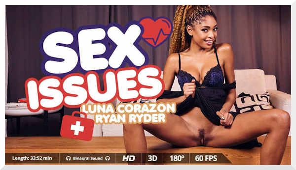 Luna Corazon Sex Issues feature image review
