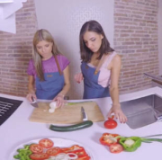 Opening of Cooking Lessons