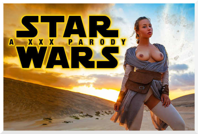Star Wars xxx parody with Taylor Sands