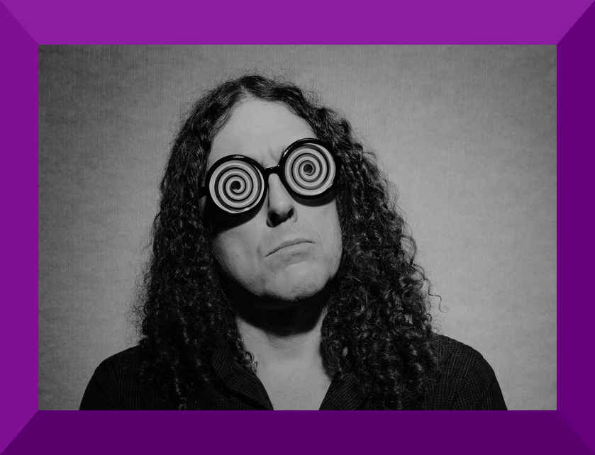 Pictured above is renowned VR porn reviewer, Mr. Weird Al Y.