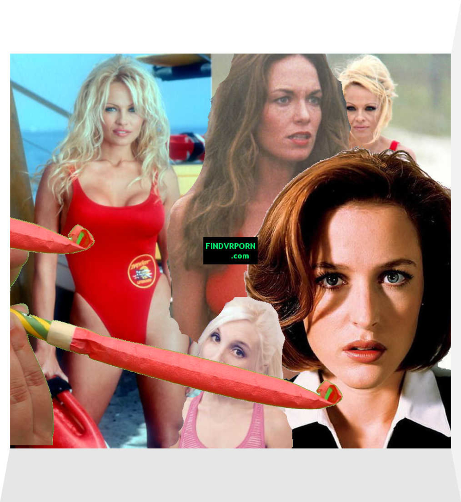 There's a party horny blowing by Piper and Agent Scully!