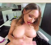 cum on Taylor Sands' pussy