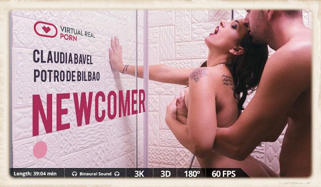 Promo Newcomer Virtual Real Porn Claudia Bavel
