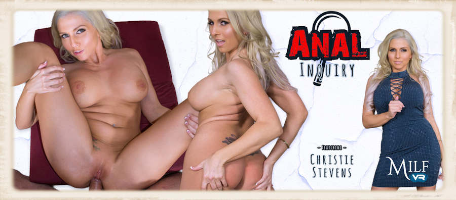 Christie Stevens free VR preview for Anal Inquiry