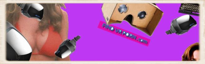 findvrporn.com website header collage