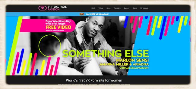 free Virtual Real Passion header