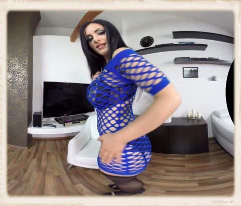 Alex Black blue dress