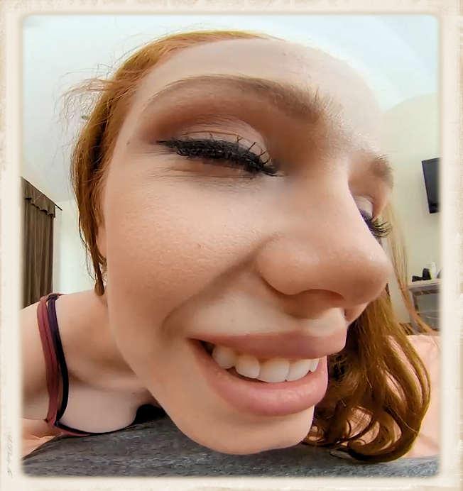 Ella Hughes face in 3D porn
