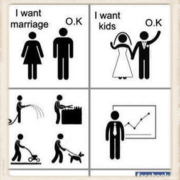 graphic critical of marriage