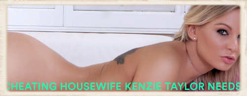Cheating Housewife Kenzie Taylor cropped image