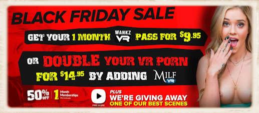 WankzVR Black Friday special discount 2018