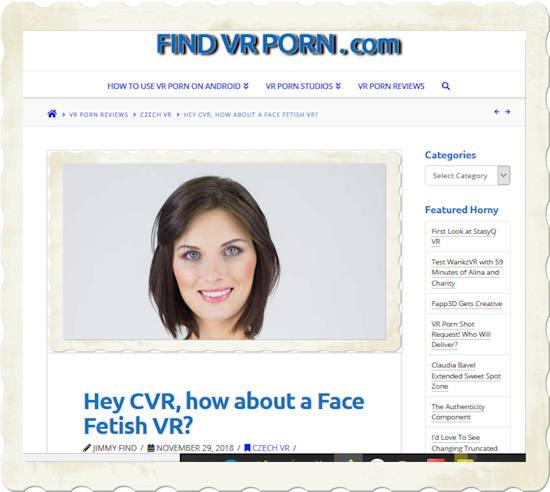 face fetish original post findvrporncom