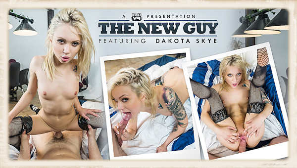 Dakota Skye VR porn The New Guy pictures and review