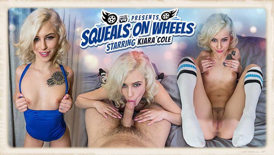 Kiara Cole Squeals on Wheels VR