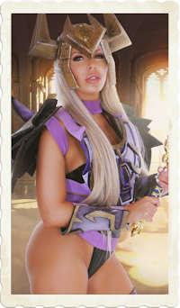Nina Elle WhorecraftVR costume