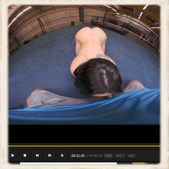 Mandy Muse VR porn blowjob