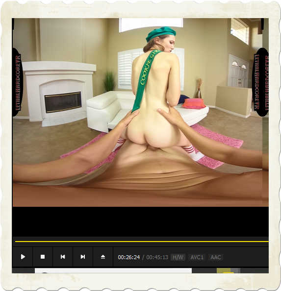 standing reverse cowgirl Samantha Hayes Lethal Hardcore VR