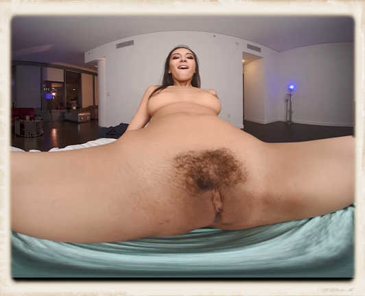 Gianna Dior pussy closeup in vr porn